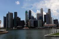 Skyline of Financial District and Marina Bay, Singapore - Yukmin