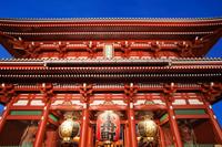 Asakusa Kannon Temple,Hozomon Gate, Tokyo, Japan - Travelasia