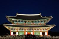 Gyeongbokgung Palace, Geunjeongjeon Throne Hall at night, Korea - Travelasia