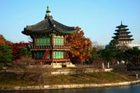 Gyeongbokgung Palace,Hyangwonjeong Pavilion,Korea,Seoul - Travelasia