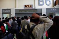 Departure gate Taiwan Airport, Taiwan - Yukmin
