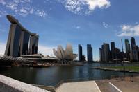 Skyline of Marina Bay Singapore - Yukmin
