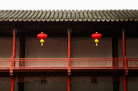 Red lanterns at YuYuan Gardens, Shanghai, China - Alex Mares-Manton