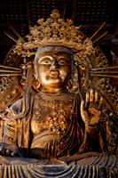 Todaiji Temple,Statue of Bosatsu, Nara, Japan - Travelasia