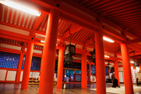 Miyajima Island, interior of Itsukushima Shrine, Japan - Travelasia