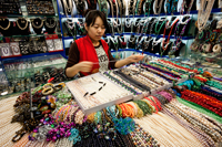 China,Beijing,Hong Qiao Pearl Market,Pearl Shop - Travelasia