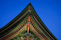 Gyeongbokgung Palace roof detail, Korea - Travelasia