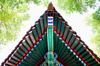 Tibetan Lama Temple or Yonghe Gong, roof detail, Beijing China - Travelasia
