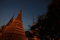 Night shot of Wat Pho Temple, Thailand - Alex Mares-Manton