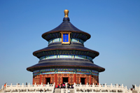 China,Beijing,Temple of Heaven or Tiantan, Hall of Prayer for Good Harvests. Beijing, China - Travelasia