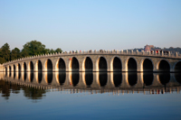 China,Beijing,The Summer Palace,Seventeen Arched Bridge - Travelasia
