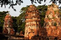 Stupas at Ayutthaya, Thailand - Alex Mares-Manton