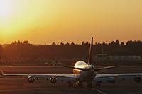 Airplane ready to take off. Narita Airport, Japan - Travelasia