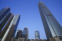 Office Skyscrapers in Central, Hong Kong - Travelasia