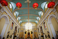 Interior of St.Lawerence's Church, Macau, China - Travelasia