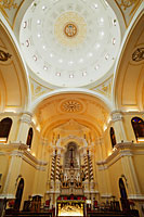 Interior of St.Joseph Seminary, Macau, China - Travelasia