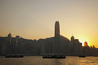 Hong Kong City Skyline and Victoria Peak at sunrise. - Travelasia