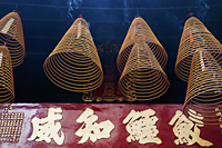 Sam Kai Vui Kun Temple, Incense Coils, Macau - Travelasia