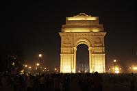 India Gate at night. New Delhi, India - Alex Mares-Manton
