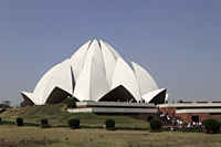 Bahai Temple, New Delhi, India - Alex Mares-Manton