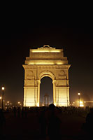 India Gate at night. New Delhi, India - Alex Mares-Manton