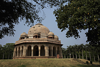 Mohammed Shah's Tomb, Lodhi Gardens. New Delhi, India - Alex Mares-Manton