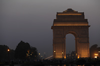 India Gate in the evening. New Delhi,India - Alex Mares-Manton