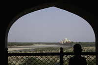 View of the Taj Mahal from Agra Fort, Agra, India - Alex Mares-Manton