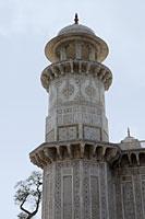 "A cupola of minaret,  Itmad-Ud-Daulah's Tomb or ""Baby Taj"". Agra India - Alex Mares-Manton"