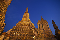 Wat Arun,Temple of Dawn, Bangkok, Thailand - Travelasia