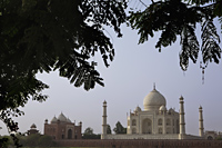Wide shot of the Taj Mahal, Agra, India - Alex Mares-Manton