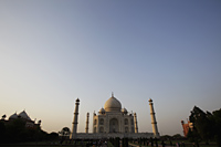 Taj Mahal at dusk. Agra, India - Alex Mares-Manton