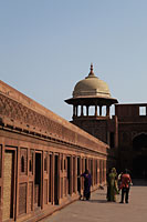 Wall of the Agra Fort, India - Alex Mares-Manton