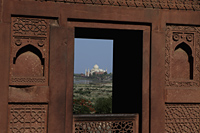 View of the Taj Mahal from the Agra Fort, India - Alex Mares-Manton