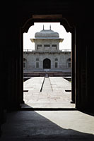 "View through an archway of the  Itmad-ud-Daulah's Tomb or ""Baby Taj""  Agra, India - Alex Mares-Manton"