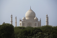 The Taj Mahal with trees in the foreground, Agra, India - Alex Mares-Manton
