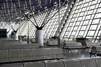 Seating area in Shanghai Pudong International Airport, China - Yukmin