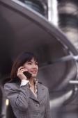 Female executive using cellular phone - Alex Microstock02