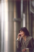 Female executive talking on cellular phone - Alex Microstock02