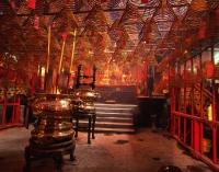 China, Hong Kong, Hollywood Road, Man Mo Temple - Rex Butcher