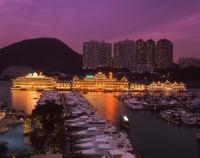 China, Hong Kong, Aberdeen, Jumbo Floating Seafood Restaurant - Rex Butcher