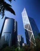 China, Hong Kong, Bank of China, Citibank Tower and HSBC Building - Rex Butcher