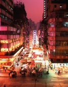 China, Hong Kong, Kowloon, Temple Street, Night Market - Rex Butcher