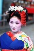 Japan, Kyoto, Maiko (apprentice geisha) - Rex Butcher