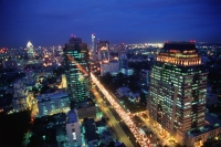 Thailand, Bangkok, Modern Buildings, Sathorn Road - John McDermott