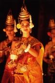 Cambodia, Angkor, Traditional Khmer dance - John McDermott