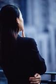 Female executive, rear view - Gareth Brown