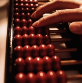 Fingers on an abacus - Gareth Brown