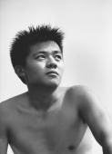 Teenage boy looking pensive - Jade Lee