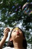 Girl blowing bubbles - Alex Microstock02